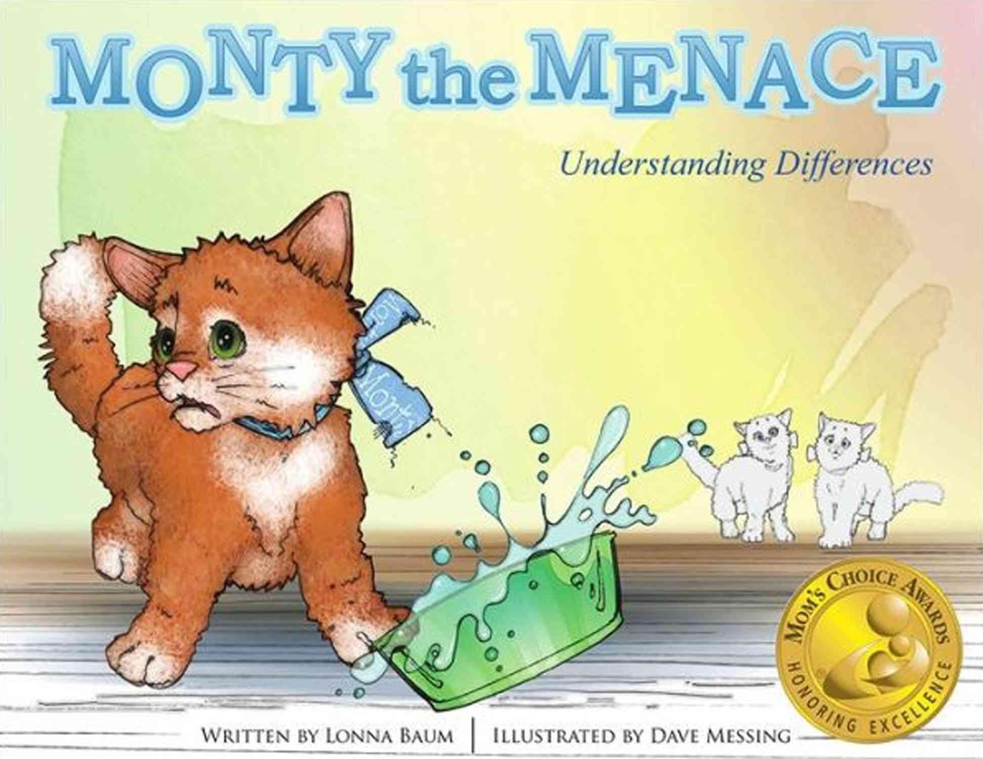 Monty the Menace By Baum, Lonna/ Messing, Dave (ILT)